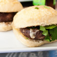 Garlic Butter Mushroom Sliders