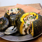 Squash Stuffed with Delicious Things