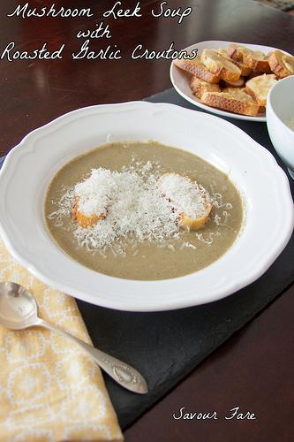 Mushroom-Leek-Soup