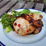 Split Chicken Breasts with Goat Cheese and Pepper Jelly