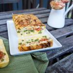 Little Flower Cafe's Breakfast Egg and Vegetable Terrine