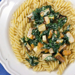 Pasta with Butternut Squash, Spinach and Cashel Blue Cheese