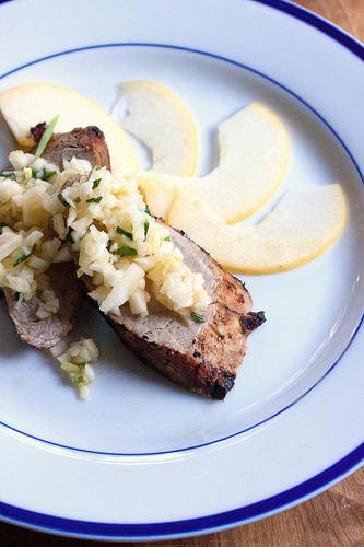 Pork Tenderloin with Apple Ginger Relish