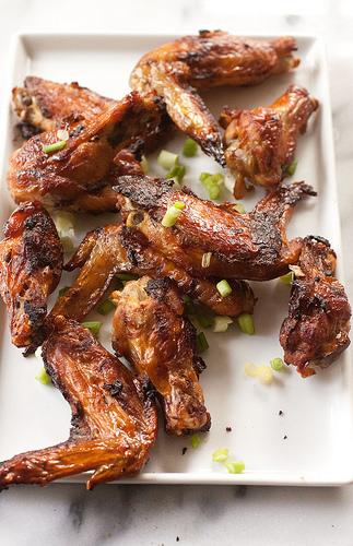 Chinese Garlic Chicken Wings