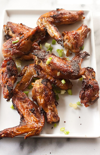 Chinese Garlic Chicken Wings