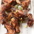 Crispy Chinese Garlic Chicken Wings