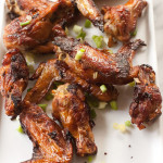 Crispy Chinese Garlic Chicken Wings