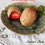 Speculoos-Dipped Strawberries