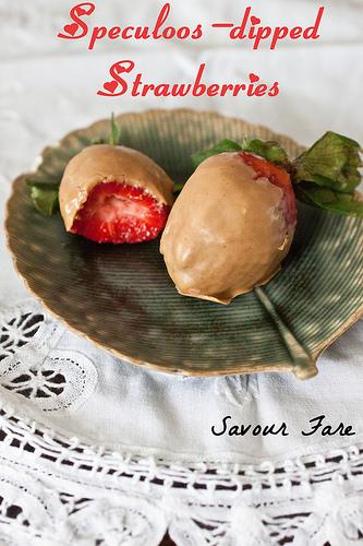 Biscoff Strawberries TXT