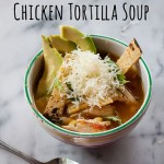 Easy Quick Chicken Tortilla Soup and How to Add Flavor to Quick Soups