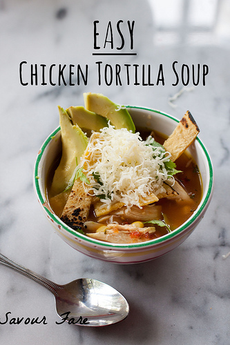 Easy Chicken Tortilla Soup txt
