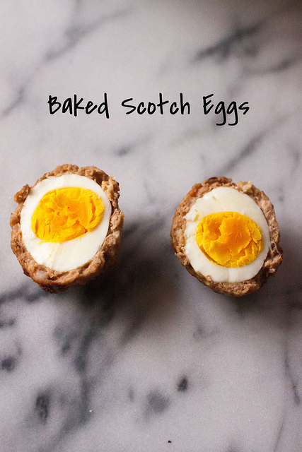 Low Carb Paleo Scotch Eggs