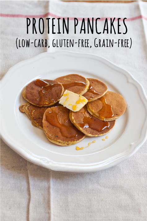 Grain Free Paleo Pancakes