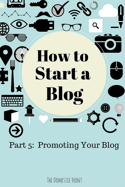 Publicize Your Blog
