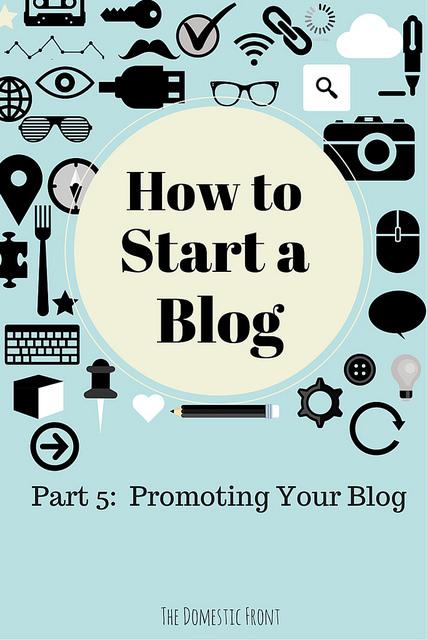 Publicize Your Blog