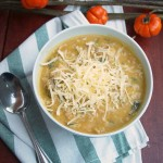 Easy White Chicken Chili with Pumpkin