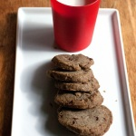 Slice and Bake Buckwheat Chocolate Shortbread