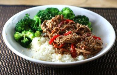 Consider the Crockpot — Thai Pork with Peanut Sauce