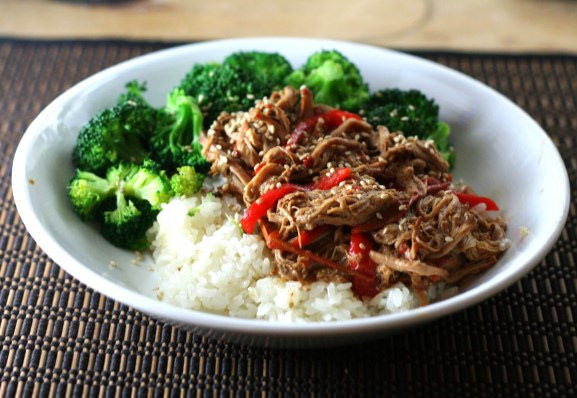 Consider the Crockpot — Thai Pork with Peanut Sauce