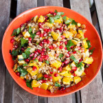 Warm Farro Salad with Roasted Delicata Squash