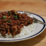 The Big Easy — New Orleans Red Beans and Rice in the Crockpot