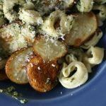 Pasta Redeemed – Tortellini with Potatoes and Mint Pesto