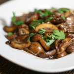 Tsumami – Sautéed Mushrooms