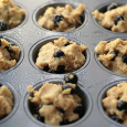 Blueberry Lime Muffins With Ricotta and Food Blogger Bake Sale