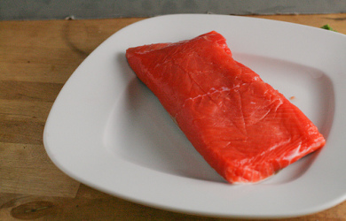 Sugar and Spice Salmon and Sustainable Seafood