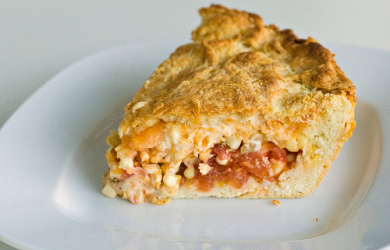 Corn and Tomato Pie — Summer in a Crust