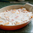 Peaches and Cream Russian Gratin