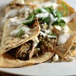 Tacos Por Favor — Shredded Chicken Tacos with Tomatillo Sauce