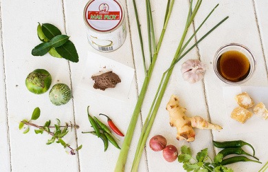 Thai Green Curry, the Authentic Way, and Shopping in Ethnic Markets