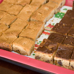 Christmas Cookies — Hazelnut Blondies