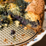 Huckleberry Blueberry Cornmeal Cake and Mother's Day