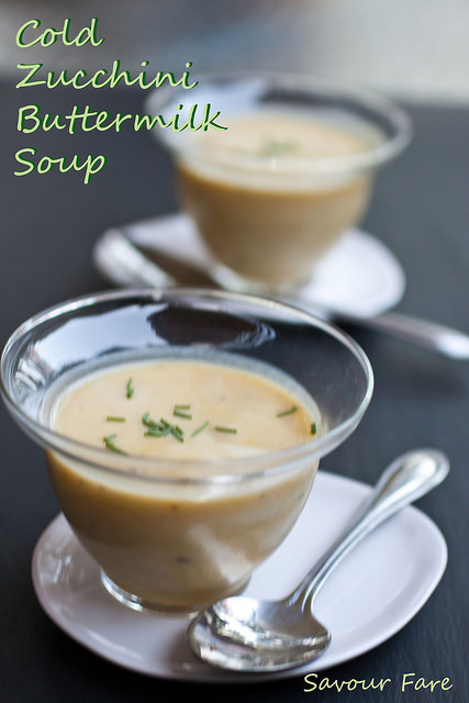 Cold Zucchini Soup with Buttermilk –  Too Much Zucchini, part III
