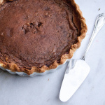 Spiced Cocoa Buttermilk Pie