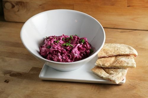 The Three B's — Beets, Blue Cheese and Bacon Dip